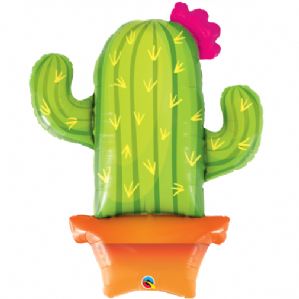 Cactus Large Foil Balloon | Free Delivery Available